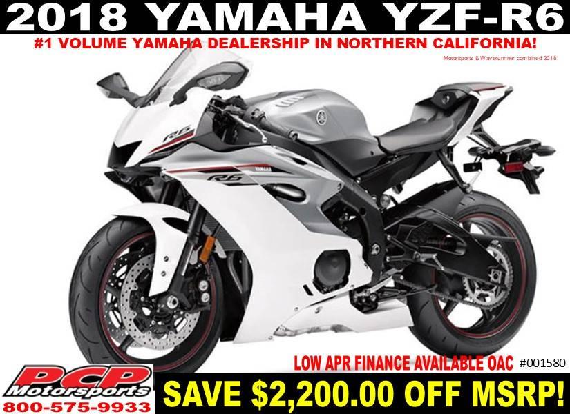 2018 Yamaha YZF-R6 1