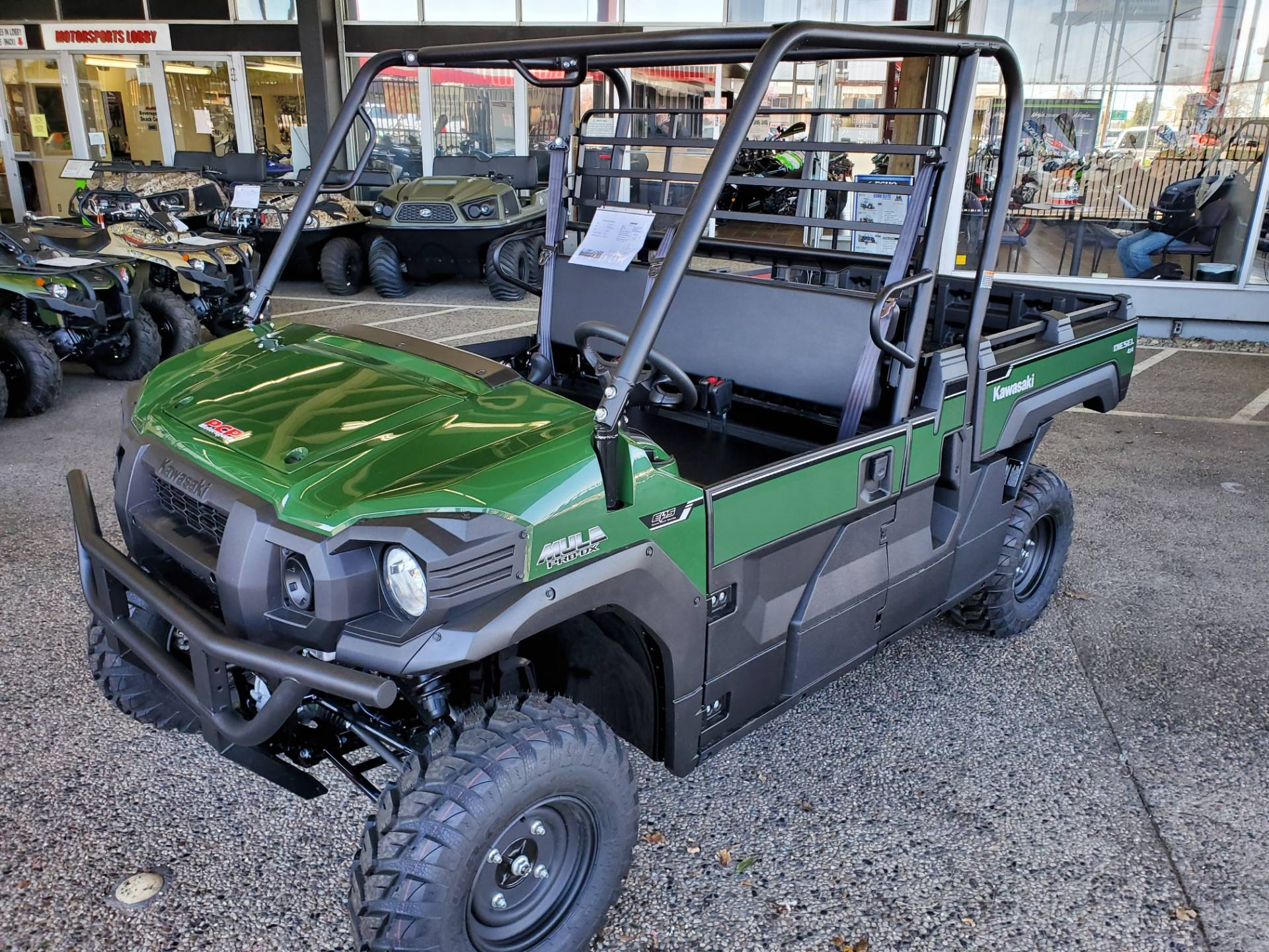 2020 Kawasaki Mule PRO-DX EPS Diesel in Sacramento, California - Photo 2