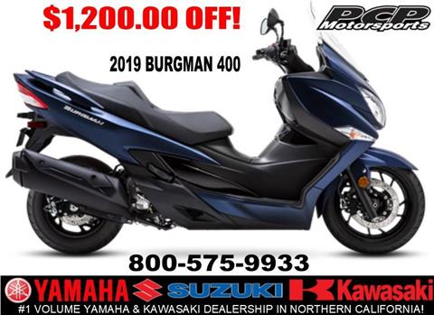 2019 Suzuki Burgman 400 in Sacramento, California - Photo 1