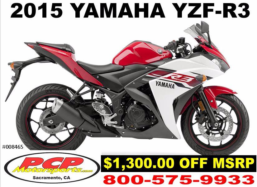 2015 Yamaha YZF-R3 for sale 5425