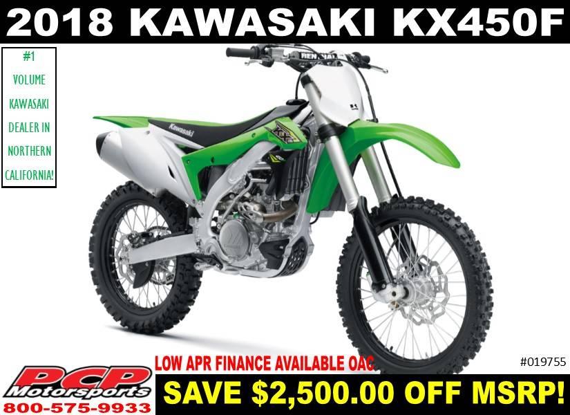2018 Kawasaki KX 450F 1