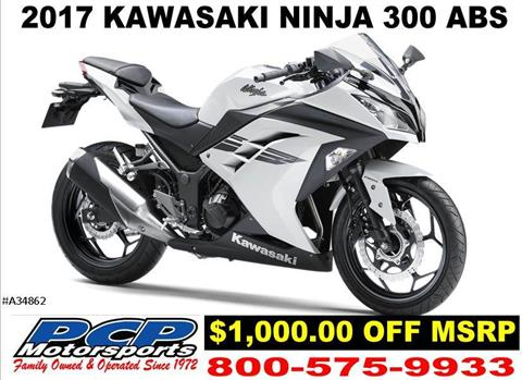 2017 Kawasaki Ninja 300 ABS in Sacramento, California