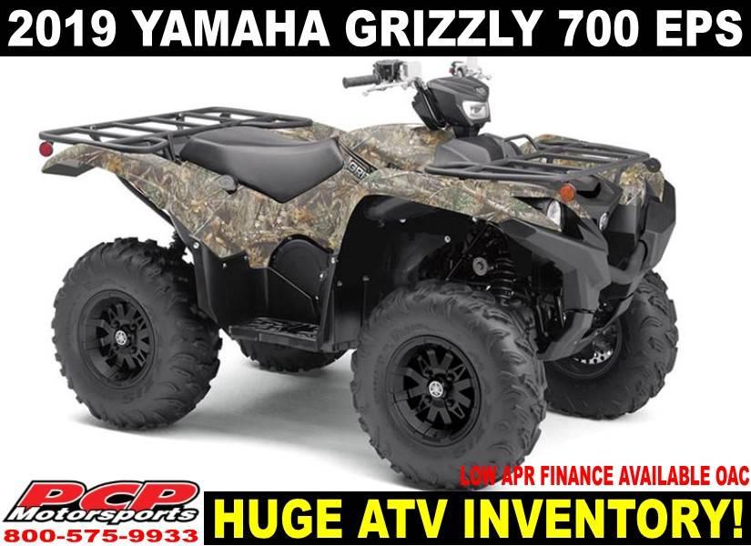 2019 Yamaha Grizzly Eps In Sacramento California