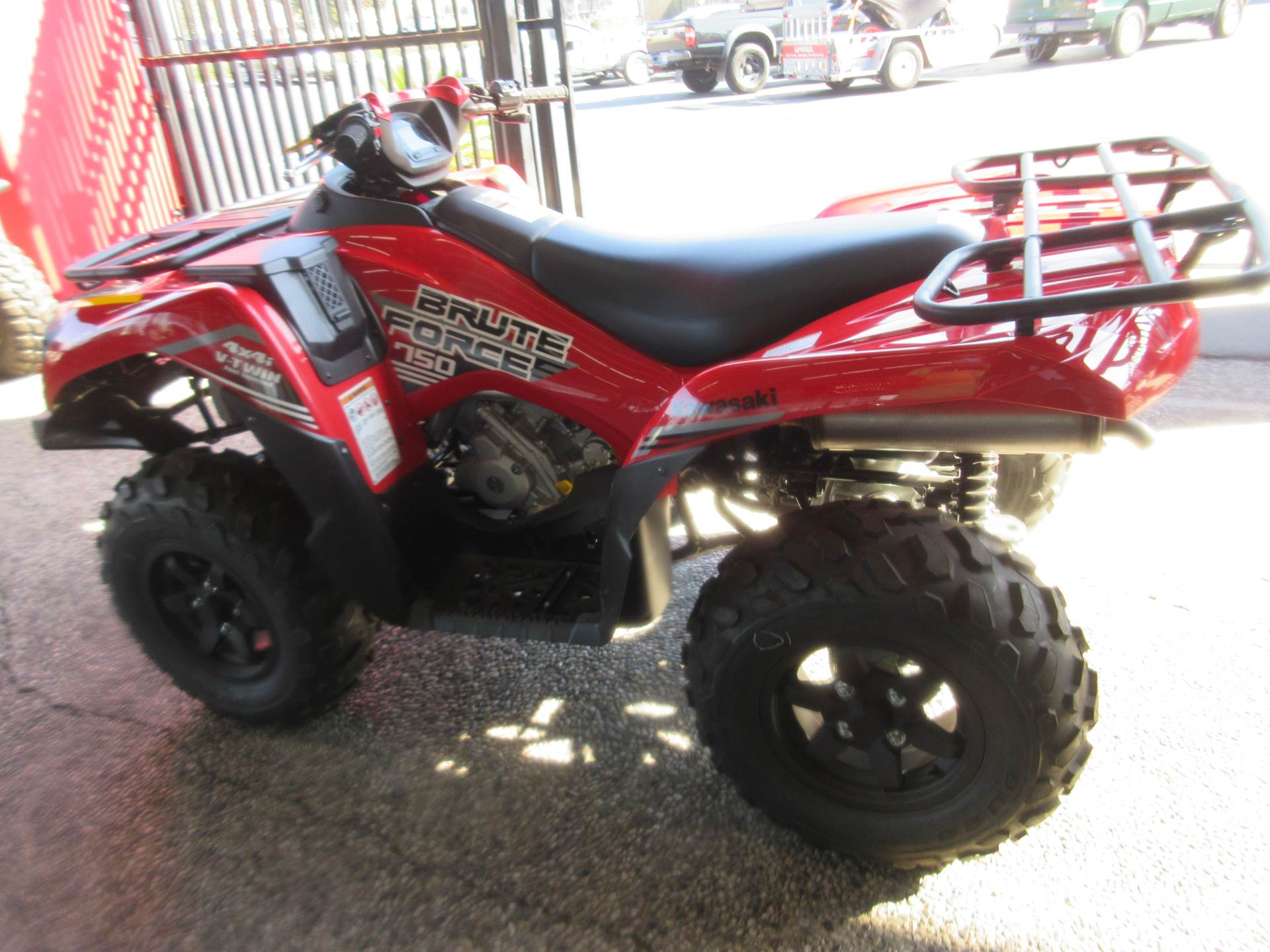 2021 Kawasaki Brute Force 750 4x4i in Sacramento, California - Photo 3