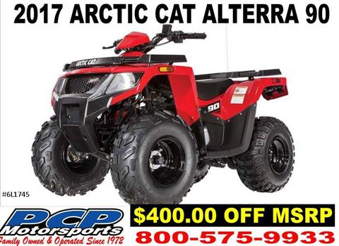 2017 Arctic Cat Alterra 90 in Sacramento, California