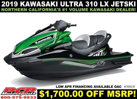 2019 Kawasaki Jet Ski Ultra 310LX in Sacramento, California - Photo 1
