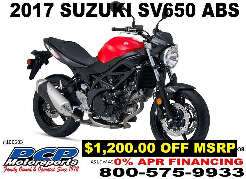 2017 Suzuki SV650 ABS for sale 56308