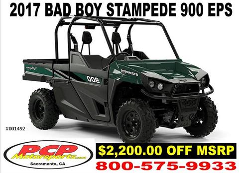 2017 Bad Boy Buggies STAMPEDE 900 EPS in Sacramento, California