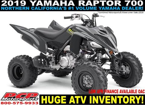 2019 Yamaha Raptor 700 in Sacramento, California - Photo 1