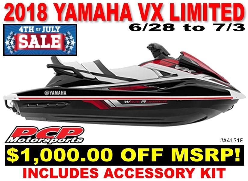 2018 Yamaha VX Limited for sale 208070