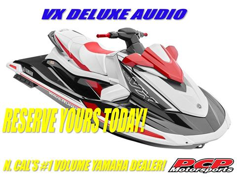 2021 Yamaha VX Deluxe with Audio in Sacramento, California - Photo 1