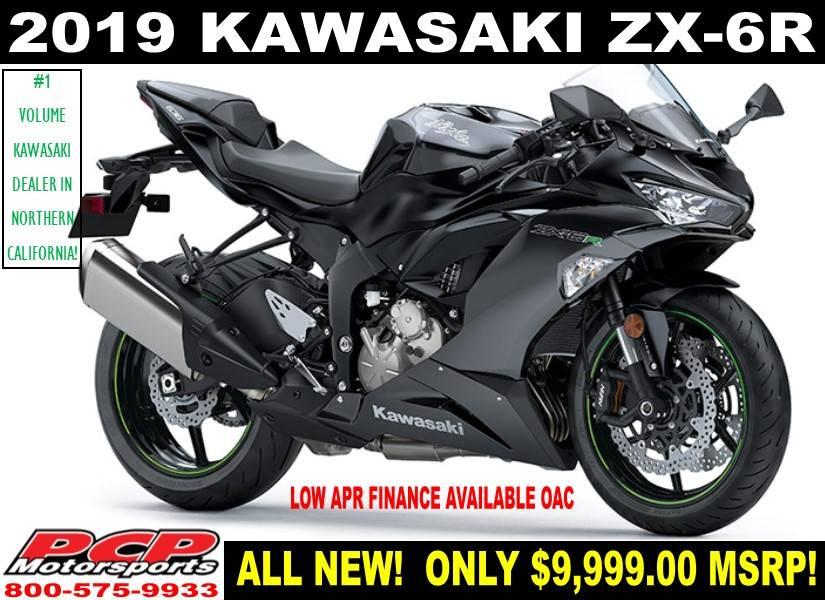 New 2019 Kawasaki Ninja Zx 6r Motorcycles In Sacramento Ca Stock