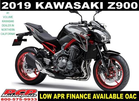 2019 Kawasaki Z900 in Sacramento, California