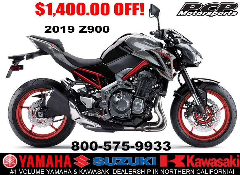 2019 Kawasaki Z900 in Sacramento, California - Photo 1