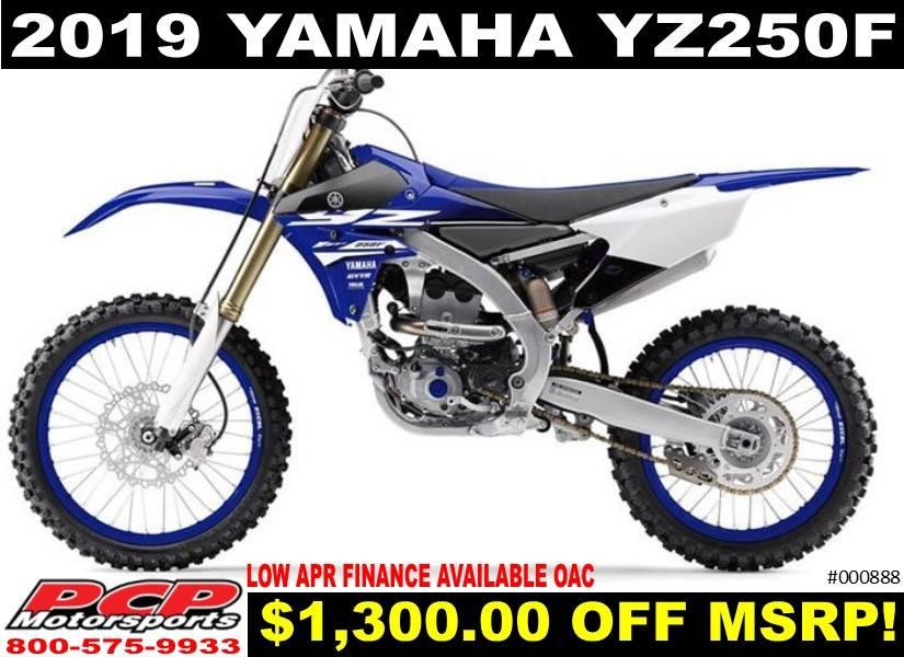 2019 Yamaha Yz250f In Sacramento California