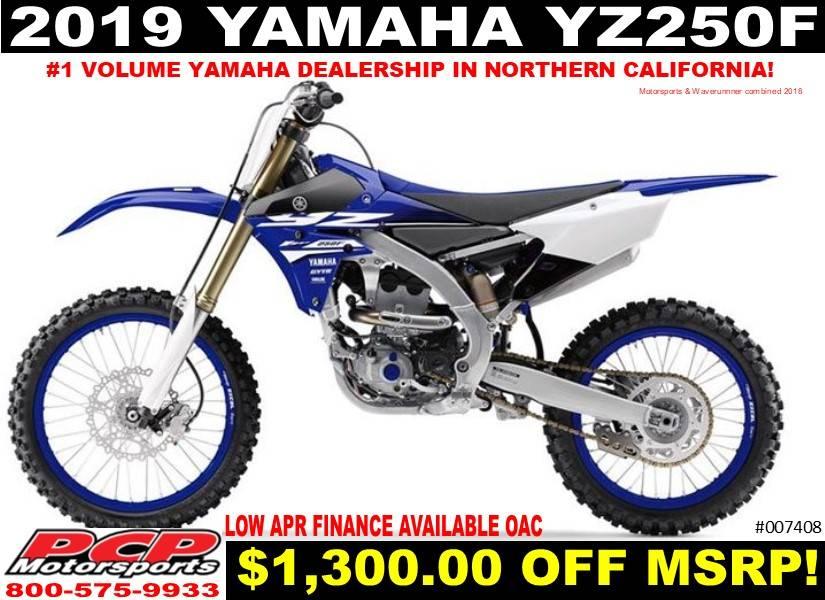 2019 Yamaha Yz250f In Sacramento California Photo 1