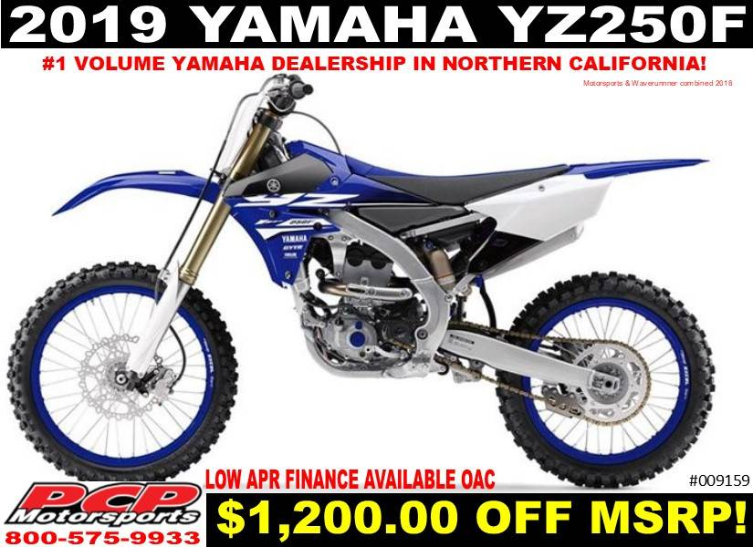2019 Yamaha YZ250F in Sacramento, California - Photo 1