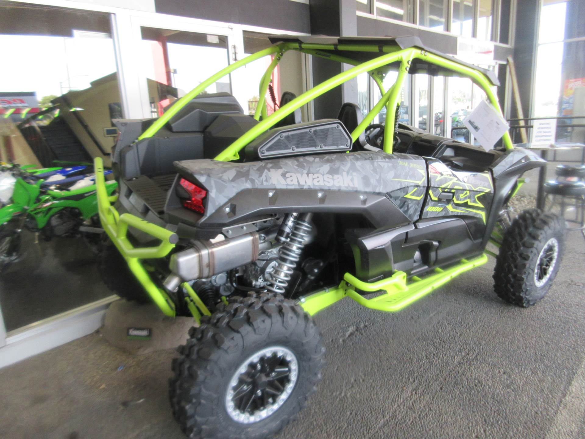 2021 Kawasaki Teryx KRX 1000 Trail Edition in Sacramento, California - Photo 2