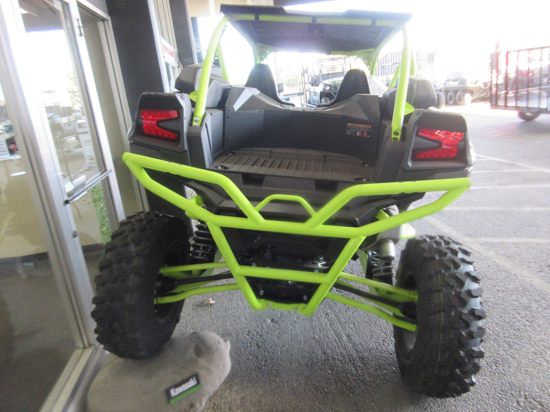 2021 Kawasaki Teryx KRX 1000 Trail Edition in Sacramento, California - Photo 3