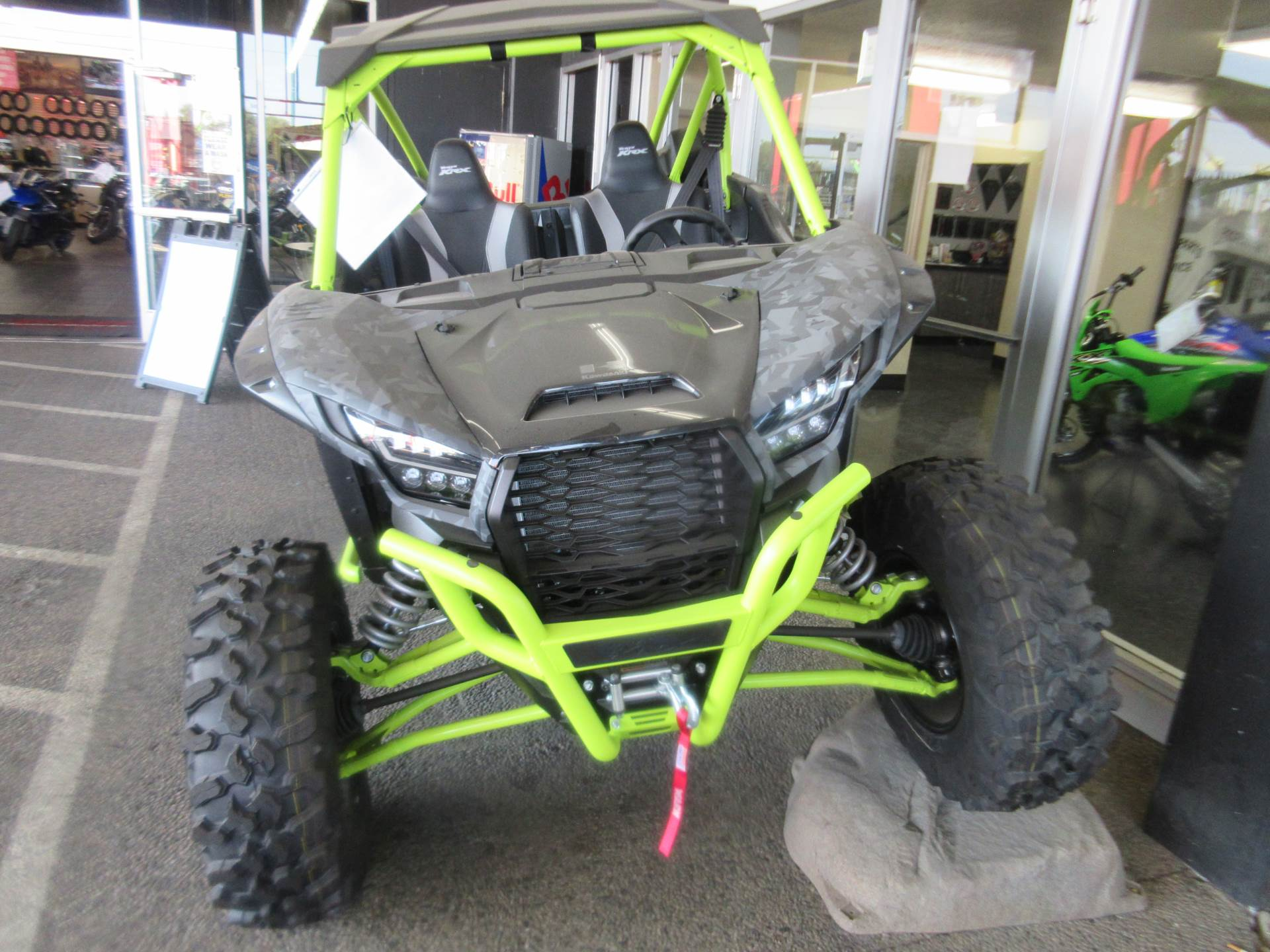 2021 Kawasaki Teryx KRX 1000 Trail Edition in Sacramento, California - Photo 4