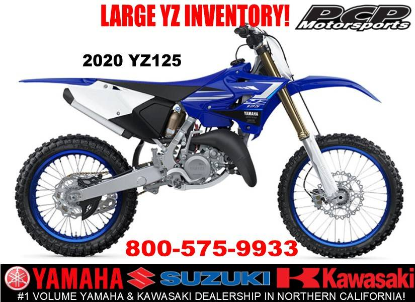 2020 Yamaha YZ125 in Sacramento, California - Photo 1