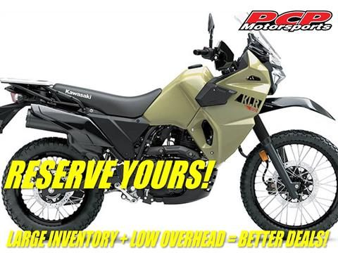 2022 Kawasaki KLR 650 in Sacramento, California - Photo 1