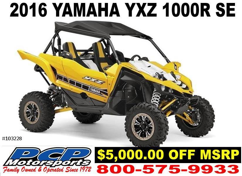2016 Yamaha YXZ1000R SE 1