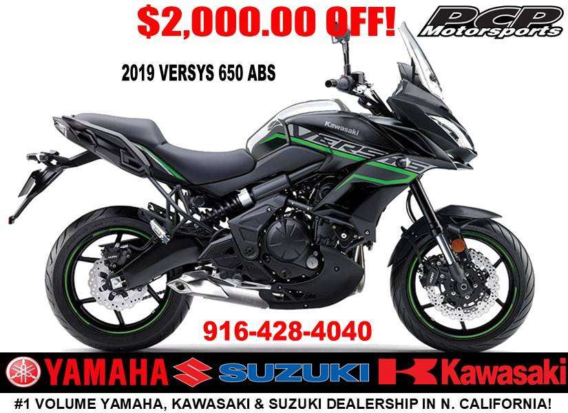 2019 Kawasaki Versys 650 ABS in Sacramento, California - Photo 1