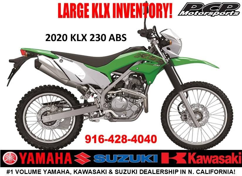 2020 Kawasaki KLX 230 ABS in Sacramento, California - Photo 1