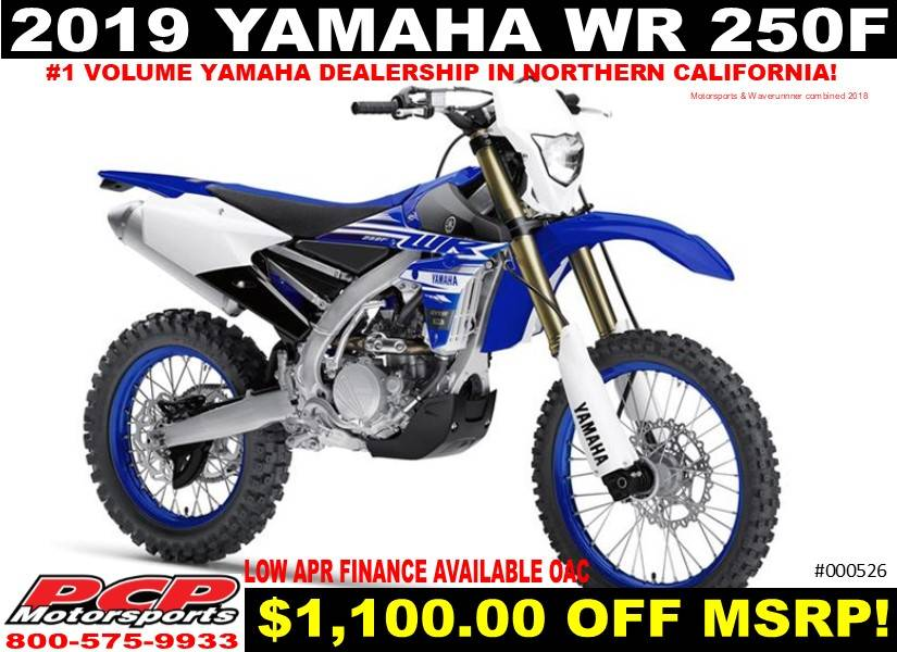2019 Yamaha WR250F in Sacramento, California - Photo 1