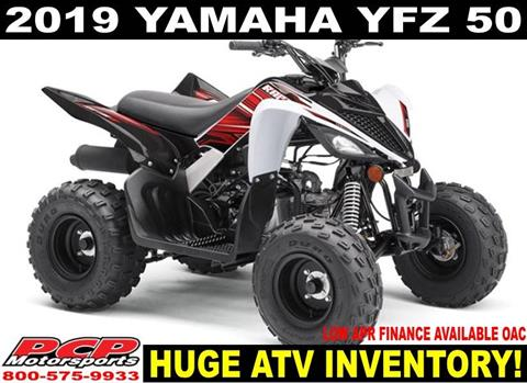 2019 Yamaha YFZ50 in Sacramento, California
