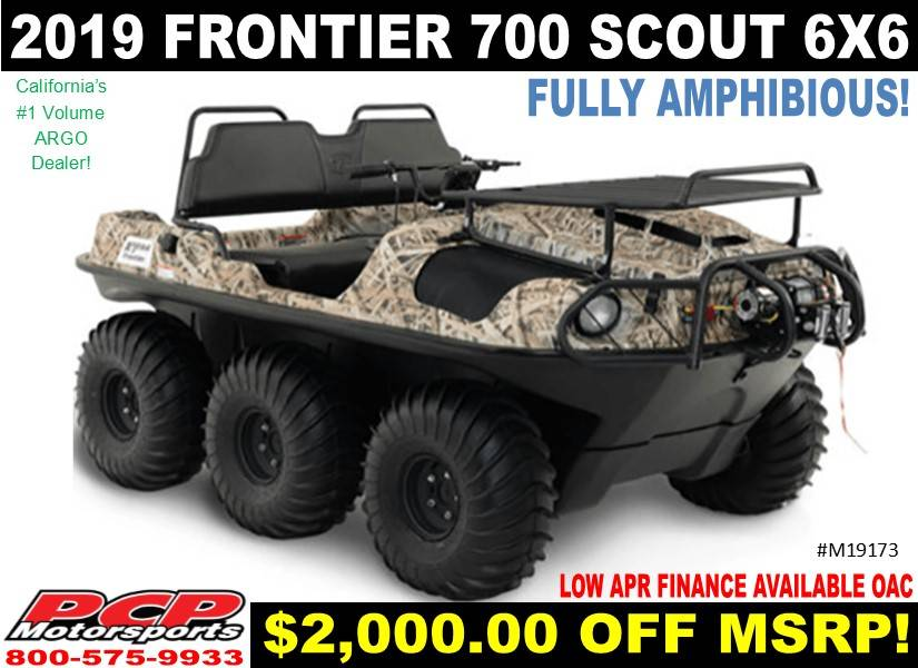 2019 Argo Frontier 700 Scout 6x6 in Sacramento, California - Photo 1
