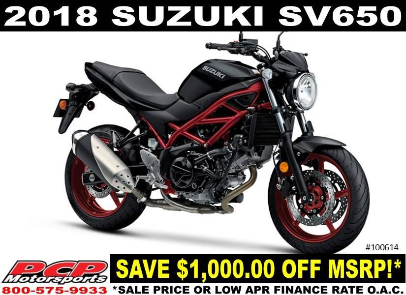 2018 Suzuki SV650 for sale 118479