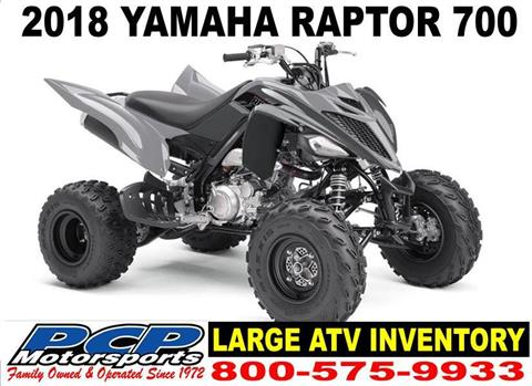 2018 Yamaha Raptor 700 in Sacramento, California