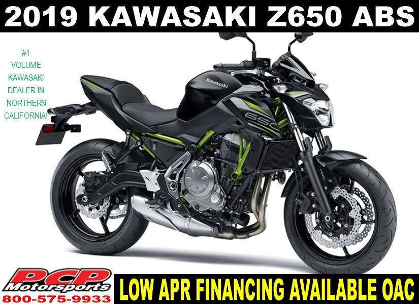 2019 Kawasaki Z650 ABS in Sacramento, California