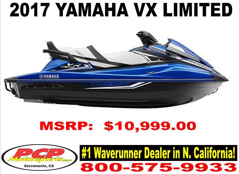 2017 Yamaha VX Limited for sale 24298