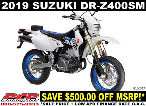 2019 Suzuki DR-Z400SM in Sacramento, California - Photo 1