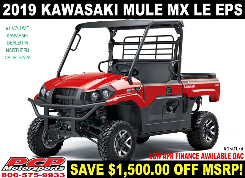2019 Kawasaki Mule PRO-MX EPS LE in Sacramento, California - Photo 1