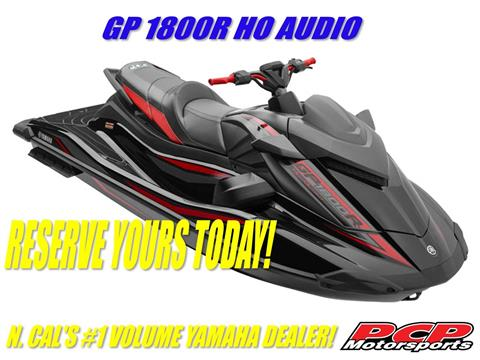 2021 Yamaha GP1800R HO with Audio in Sacramento, California - Photo 1
