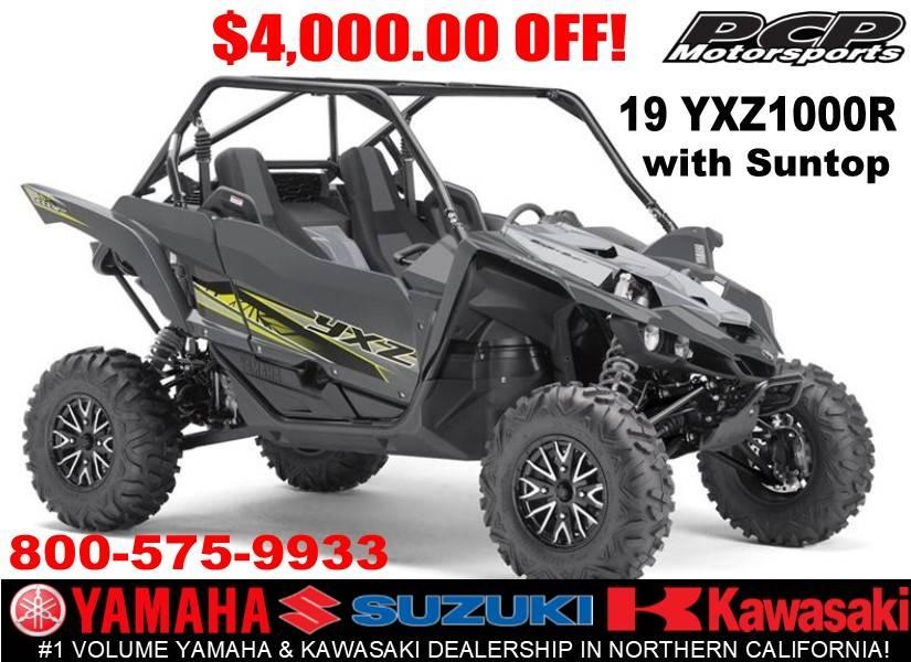 2019 Yamaha YXZ1000R in Sacramento, California