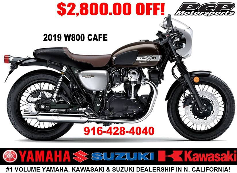 2019 Kawasaki W800 Cafe in Sacramento, California - Photo 1