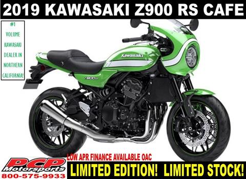 2019 Kawasaki Z900RS Cafe in Sacramento, California