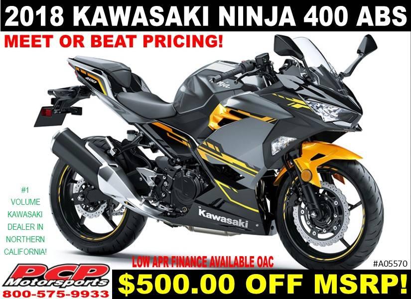 2018 Kawasaki Ninja 400 ABS for sale 41870
