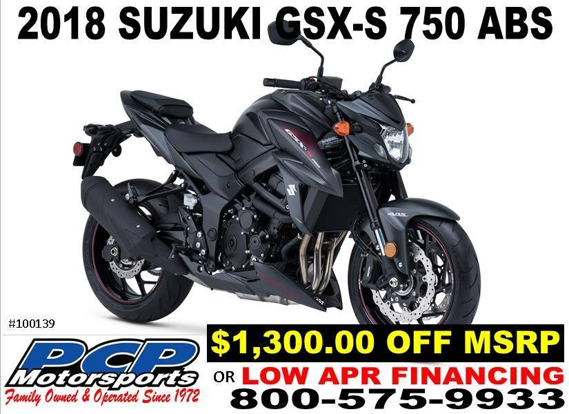 2018 Suzuki GSX-S750Z for sale 107945