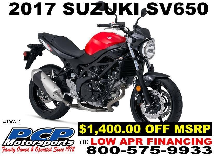 2017 Suzuki SV650 for sale 9749