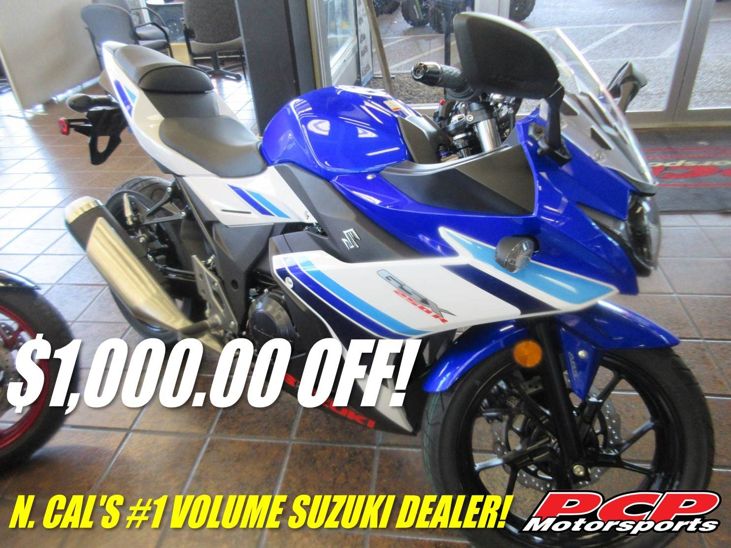 2019 Suzuki GSX250R ABS in Sacramento, California - Photo 1