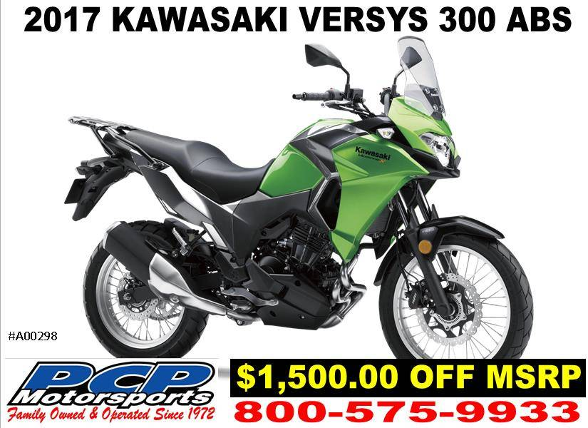 2017 Kawasaki Versys-X 300 ABS in Sacramento, California