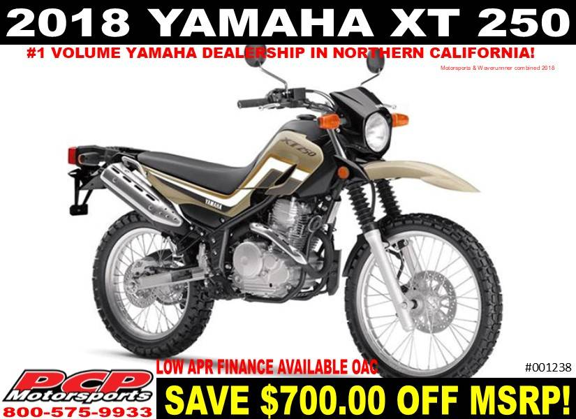2018 Yamaha XT250 for sale 104091