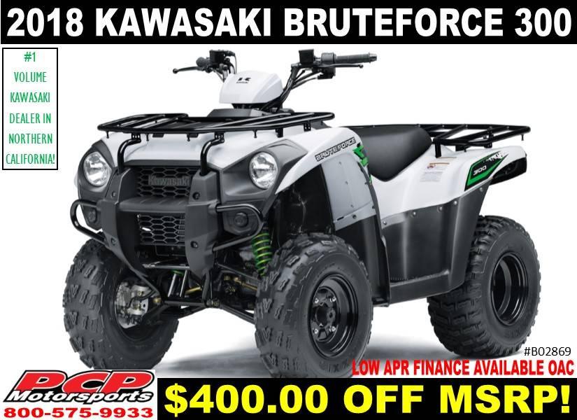 2018 Kawasaki Brute Force 300 1