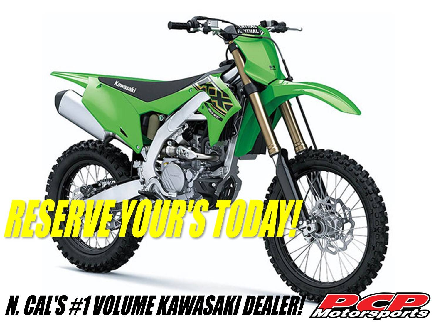 2021 Kawasaki KX 250XC in Sacramento, California - Photo 1